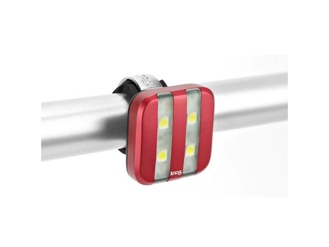 Knog Blinder 4 weiße LED GT rot